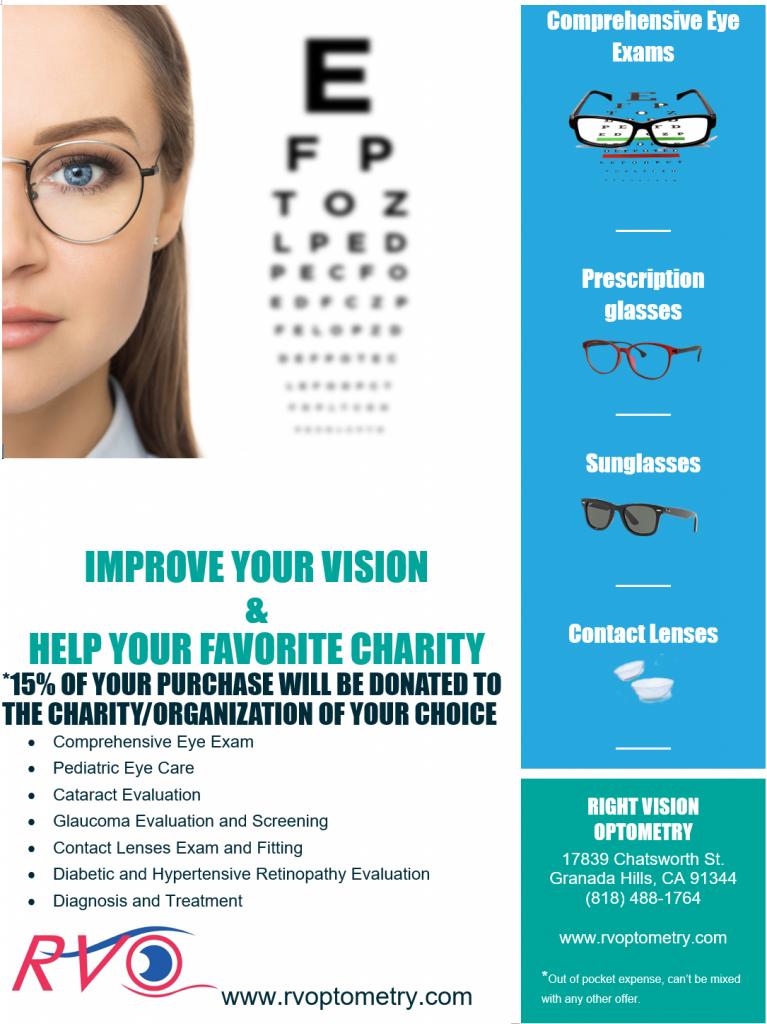 Eye Glasses, sun glasses, eye doctor, optometrist, granada hills